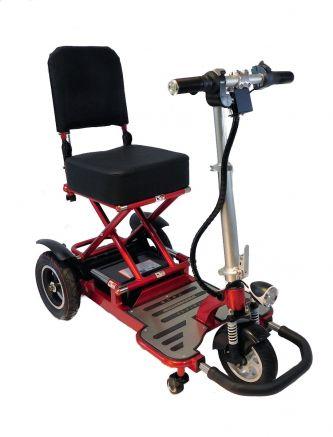 Triaxe Tour Folding 3 Wheel Mobility Scooter