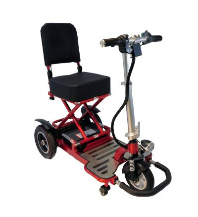 Triaxe Tour Folding 3 Wheel Mobility Scooter